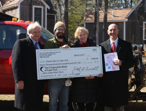 Thank you Cape Cod Cooperative Bank!